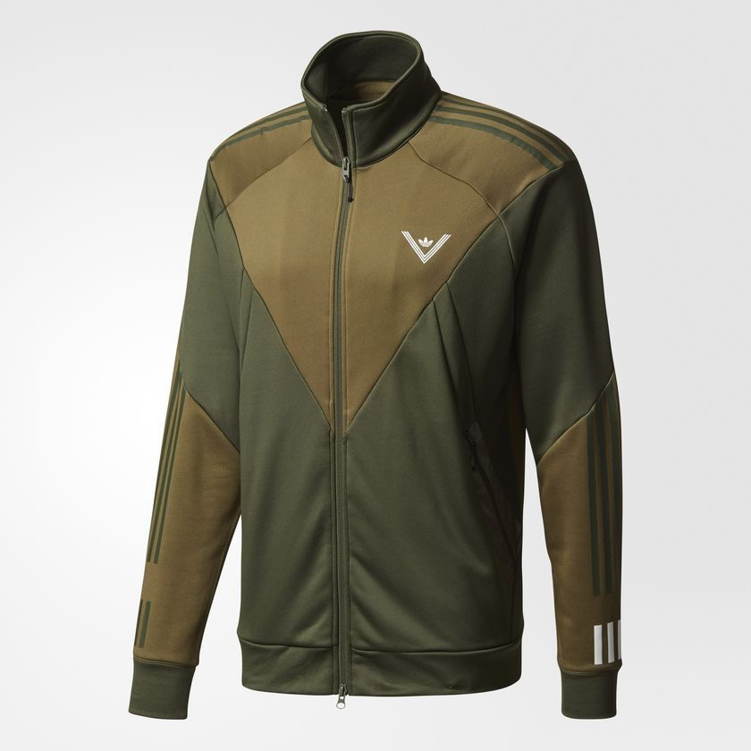Adidas Originals Men's White Mountaineering Track Jacket