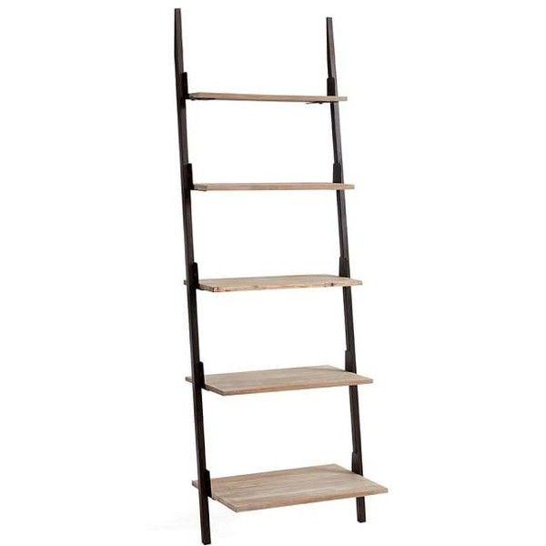 Pottery Barn Clarkson Ladder Shelf 199 Liked On Polyvore