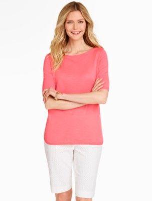 Talbots: Elbow Sleeve Pullover