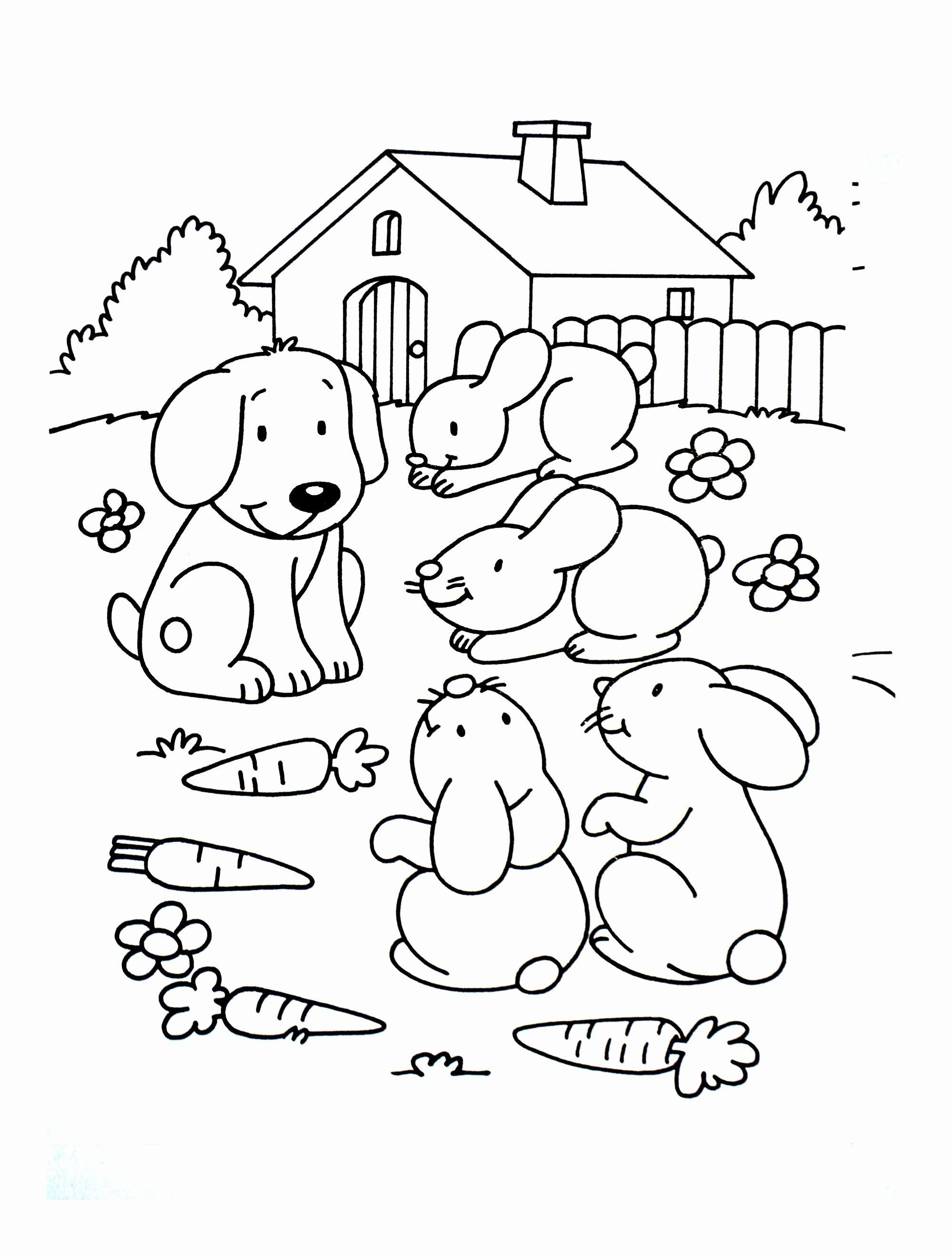 Coloring Pages House Animal New Animal Friends Coloring Pages Farm Animal Coloring Pages Animal Coloring Pages Dog Coloring Page