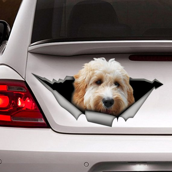Funny My Dog Loves Me HUSKY Vinyl Car Van Sticker Pet Animal Lover