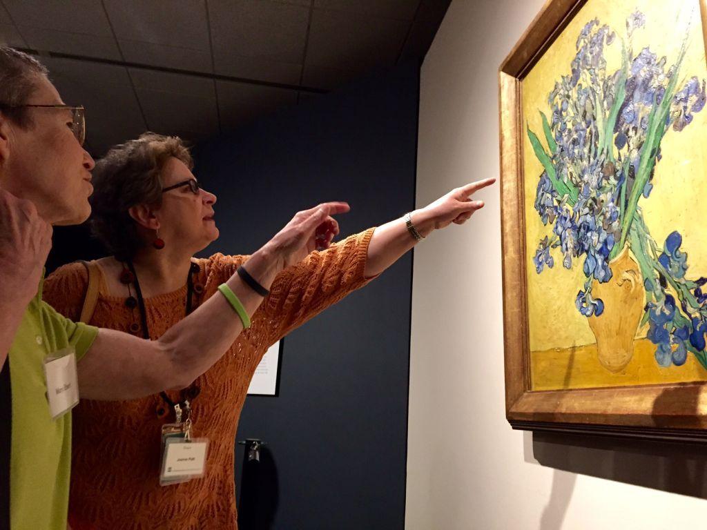 Minneapolis Institute of Art caps centennial surprises with famed 'Irises'