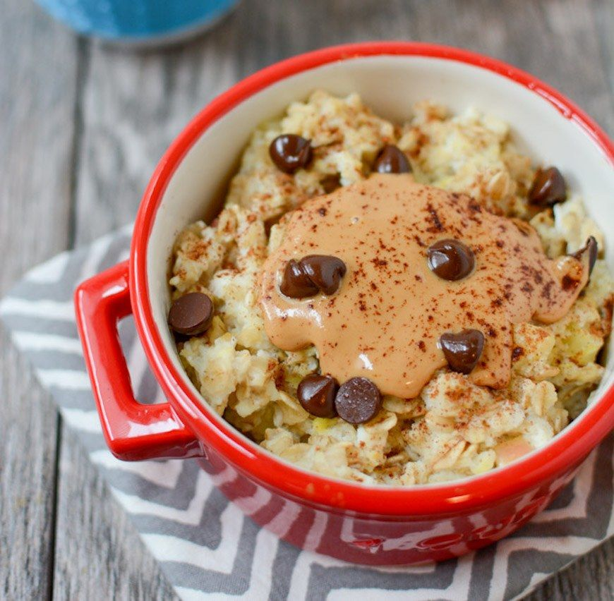 How to cook oatmeal with an egg in the microwave recipe