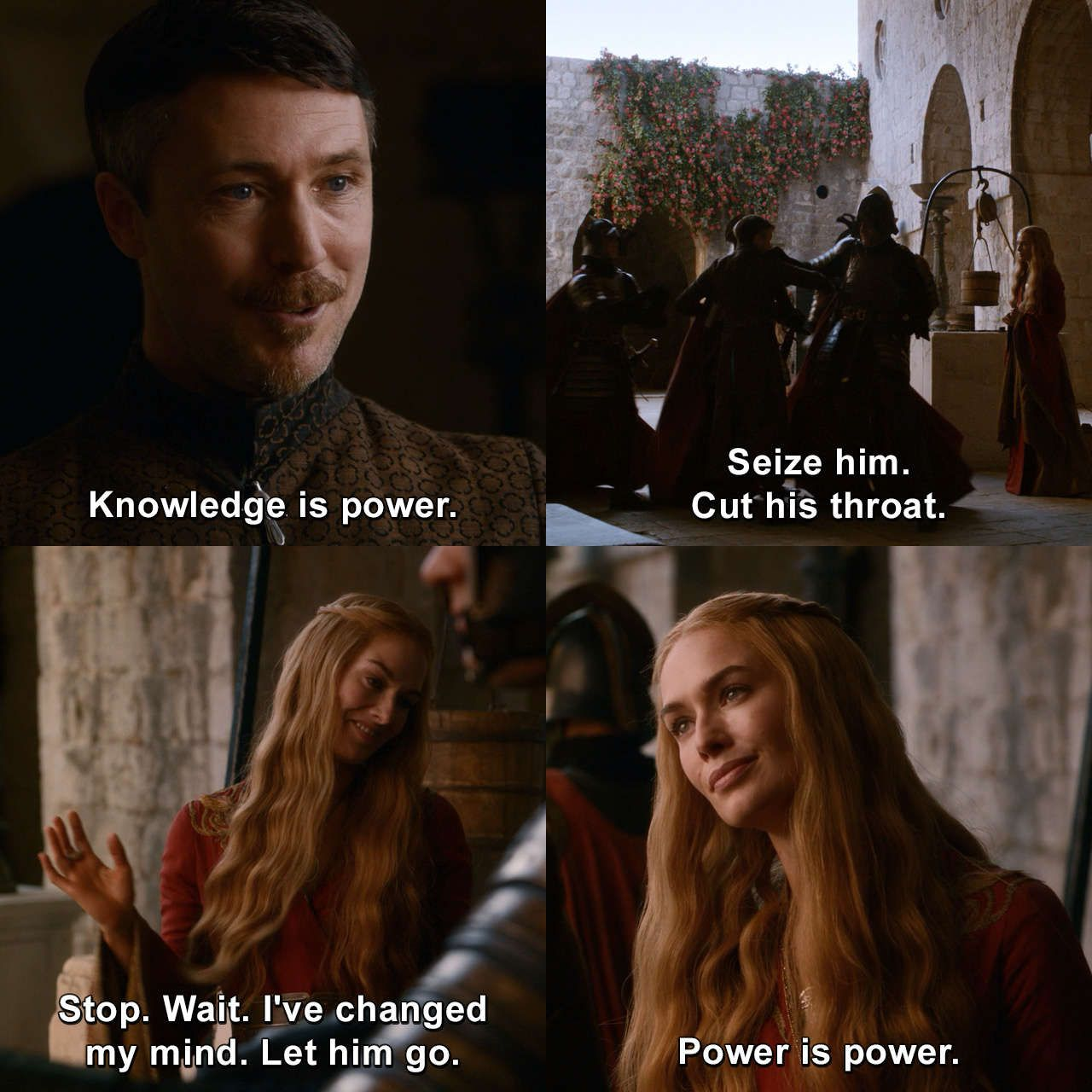 Say No More Cerseilannister Petyrbaelish Gameofthrones Thenorthremembers Got Quotes Humor Game Of Thrones Quotes Game Of Thrones Facts Got Memes