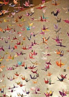 Wwwfacebookcomorigamidecolourdes Origami Grullas
