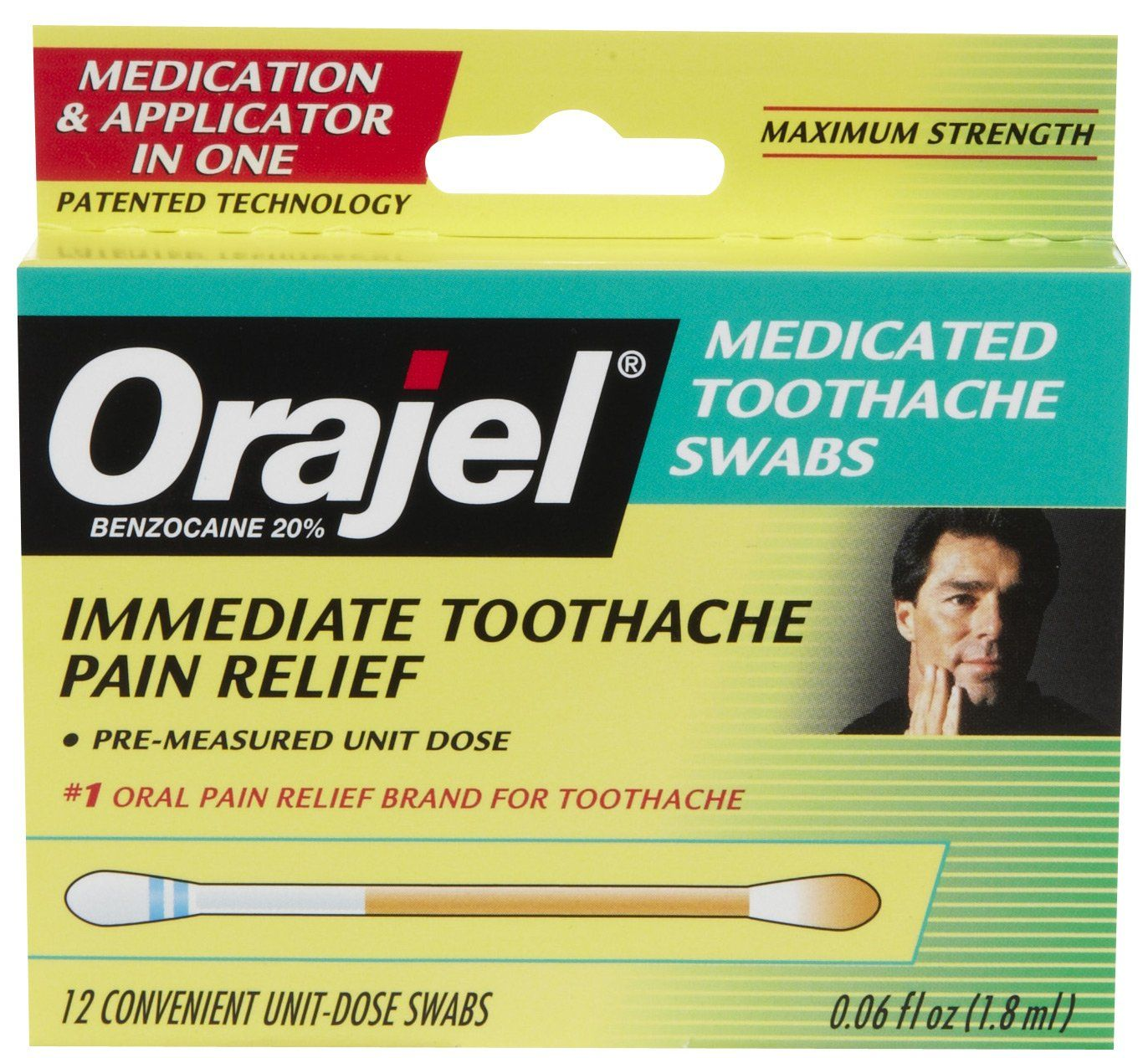 My Travel Ng List Orajel Max Strength Toothache Pain Relief Swabs In