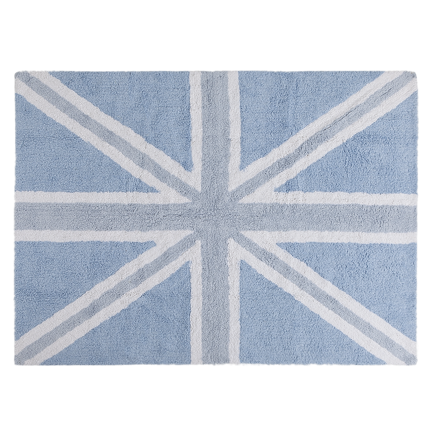 Alfombra Lorena Canals Outlet Washable Rug England Falg Baby Blue Alfombra Lavable Bandera