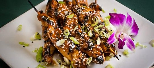 Marinated Chicken Satay