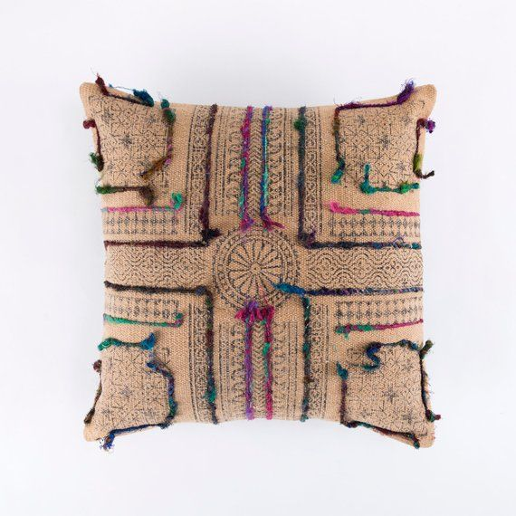 Handmade Dhurrie Pillow Covers By Hwt
