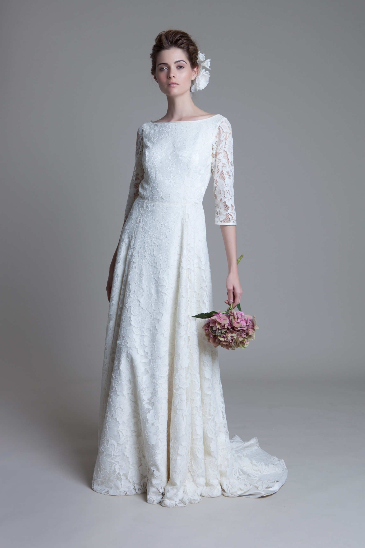 Halfpenny London Vintage inspired wedding dresses
