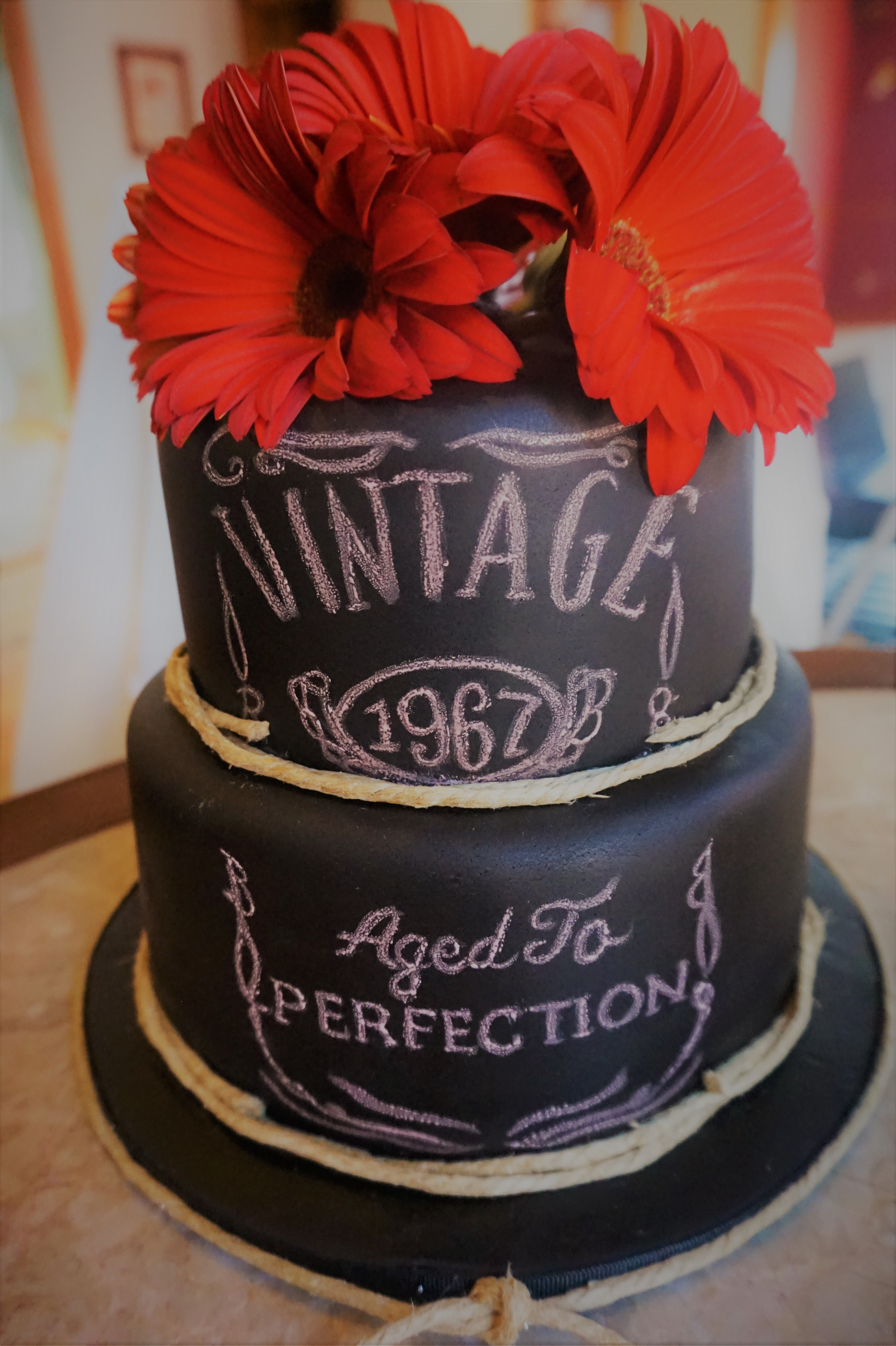 Vintage Aged To Perfection Cake With Images Dad Birthday Cakes