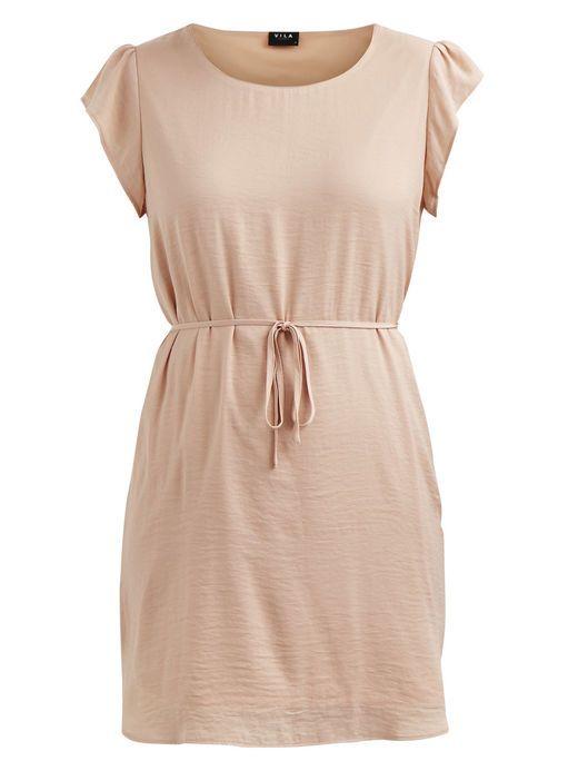 7771d359 ENKEL KJOLE, Pink Sand | Tøj