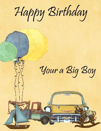 Send Truck Full Of Happy Wishes To Your Young Boy On His Birthday
