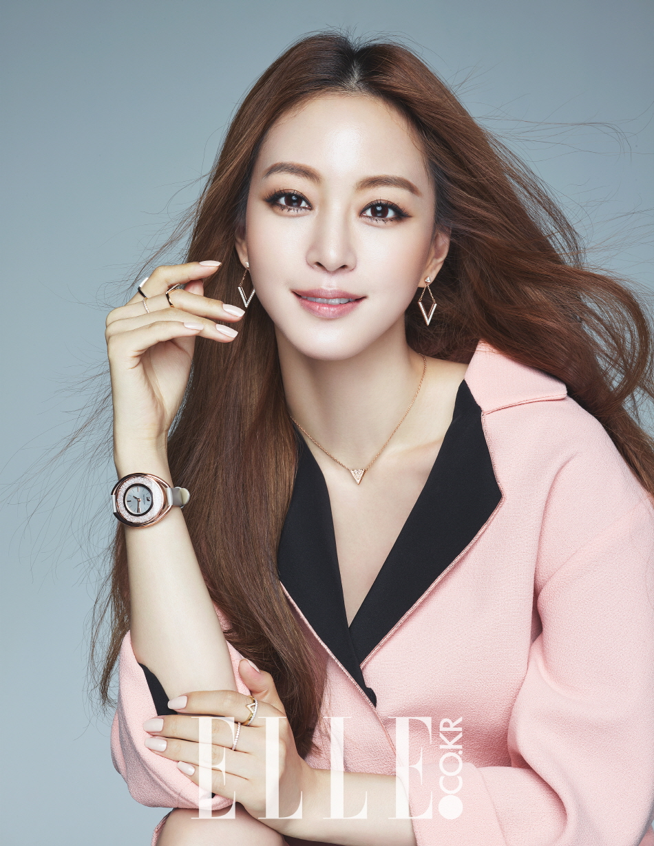 Korean Actress Han Ye Seul Elle Magazine September 2015