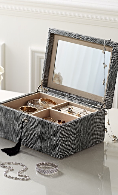 Inside and out our WOLF Shagreen Jewelry Box will last a lifetime