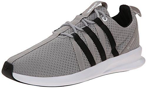 adidas Originals Mens SL Loop Lifestyle Racer Sneaker Solid Grey Black Running  White
