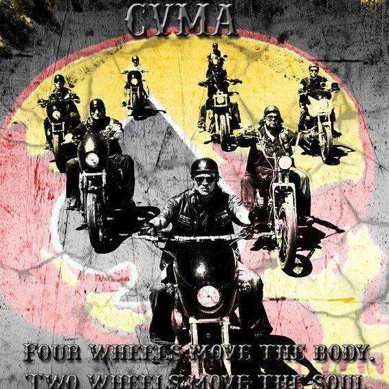 Four Wheels Move The Body Two Wheels Move The Soul Cvma