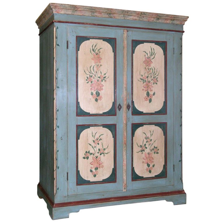 Antique Russian Armoire | From A Unique Collection Of Antique And Modern  Wardrobes And Armoires At