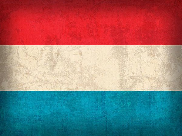 Luxembourg Flag Vintage Distressed Finish Art Print By Design Turnpike Luxembourg Flag Flag Art Flags Wallpaper