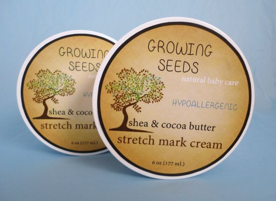 Growing Seeds 100 Natural Alcohol Free STRETCH MARK by IAmLovleigh, $3.99