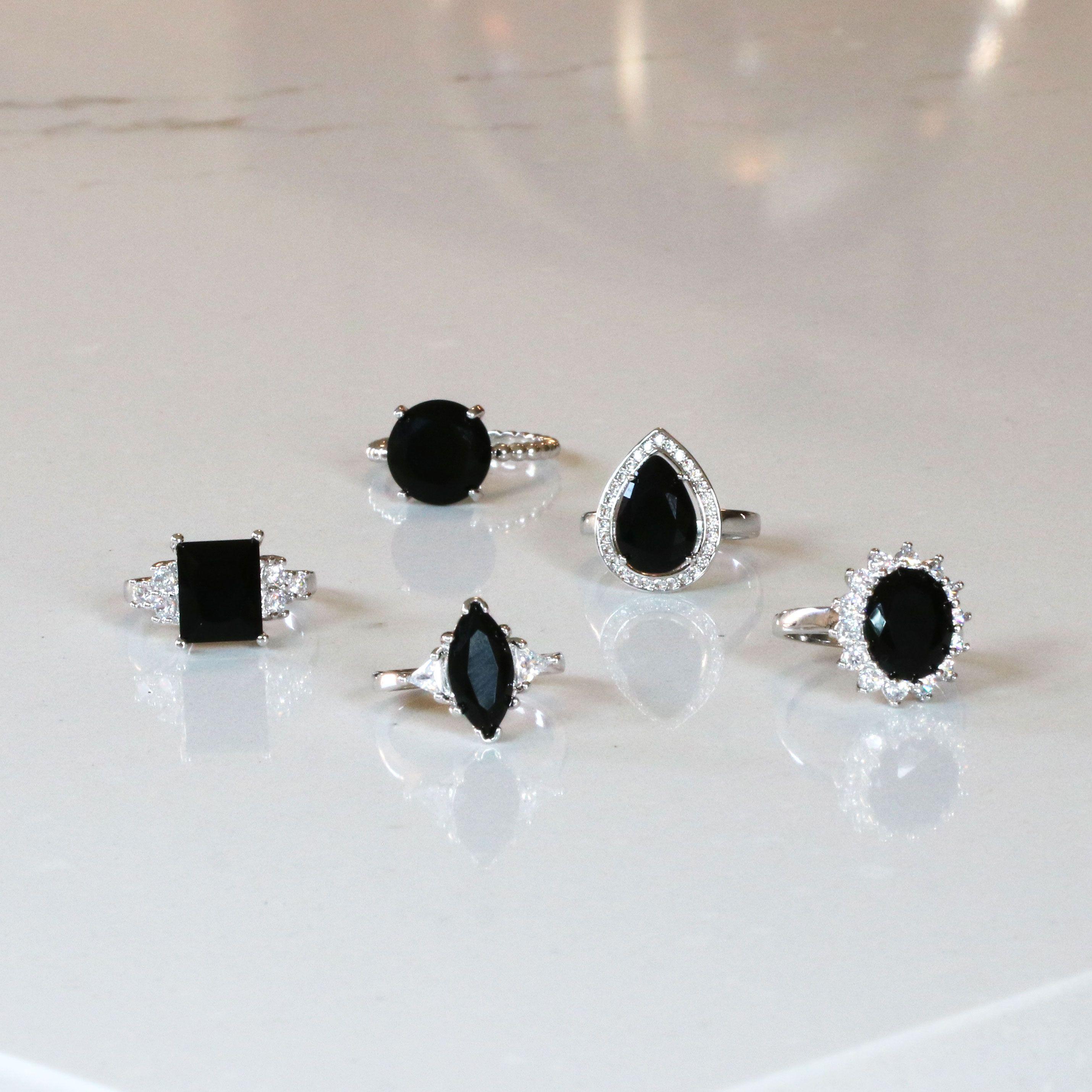 Dark Magic Charcoal Bath Bombs With Rings Black Bath Bomb Black Cz