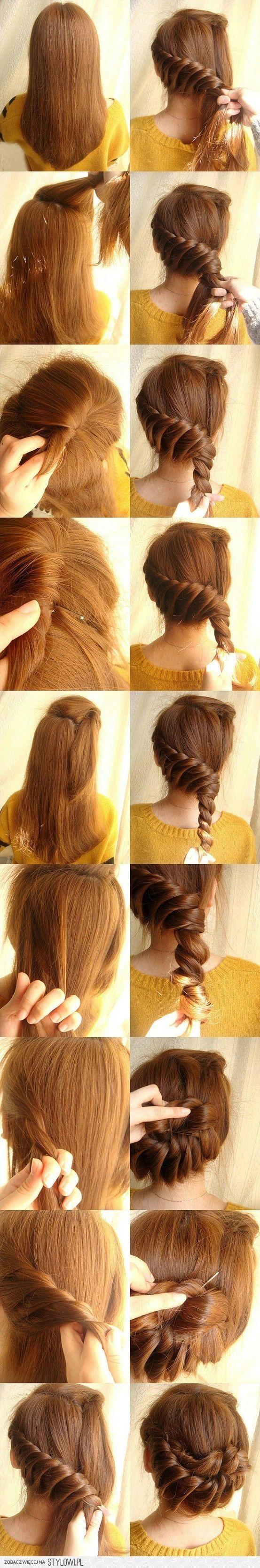 Do the twist Hair styles Pinterest Hair style Pretty hair and