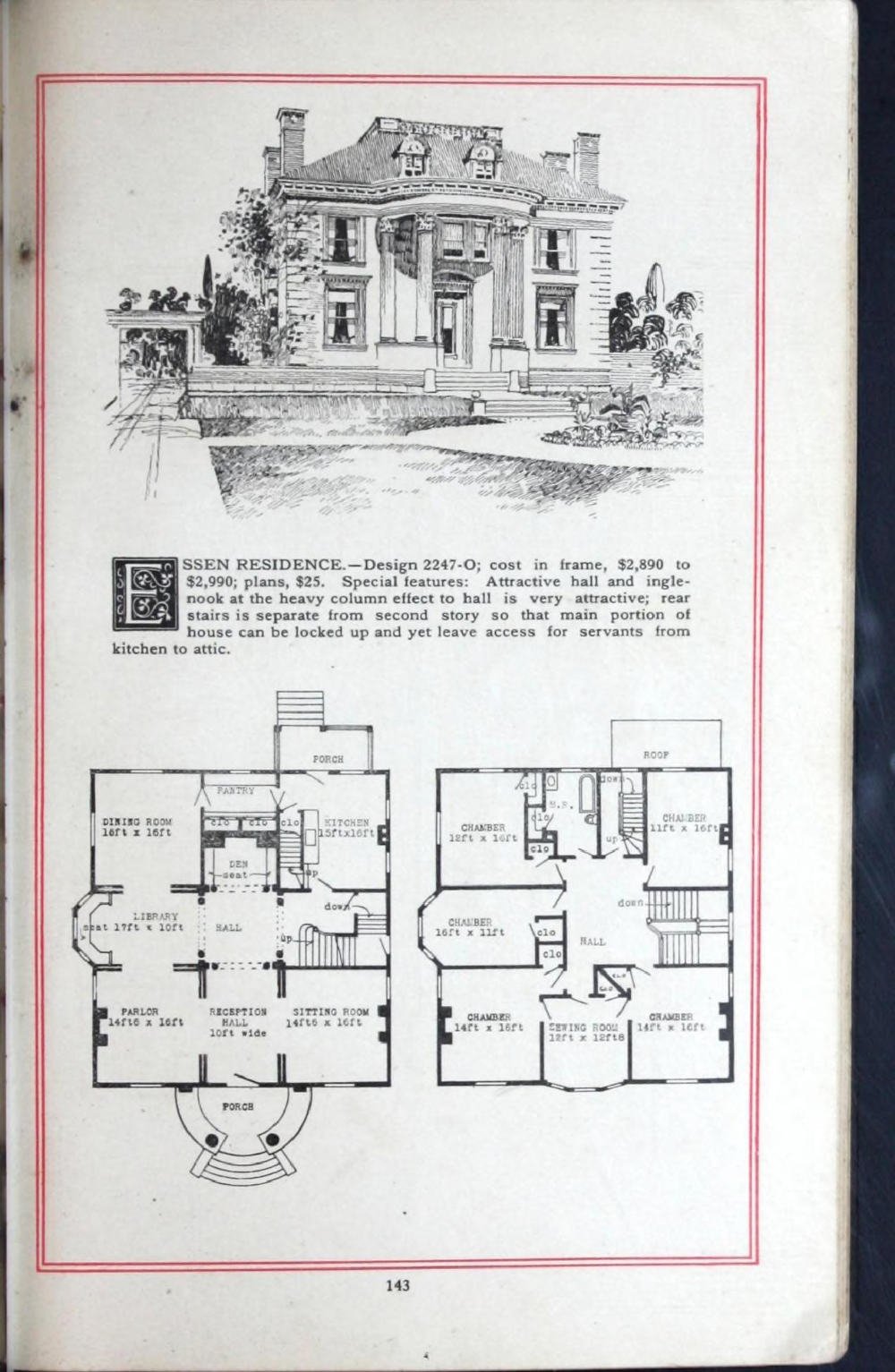 Artistic Homes Herbert C Chivers Architect Chivers Herbert C Free Download Borrow And Streaming Internet Archive Vintage House Plans How To Plan House Plans