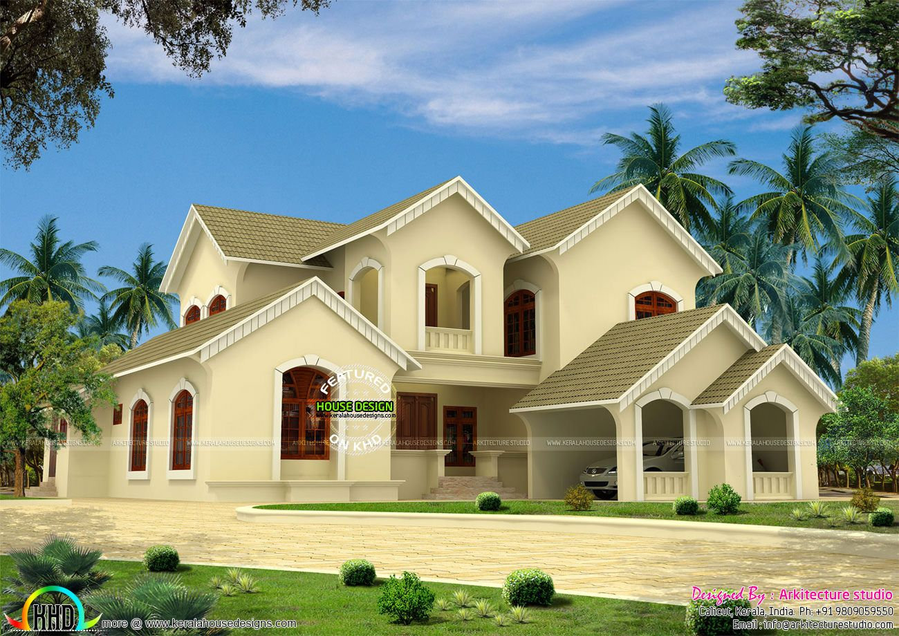Victorian Style House In Kerala House House Styles Victorian Fashion