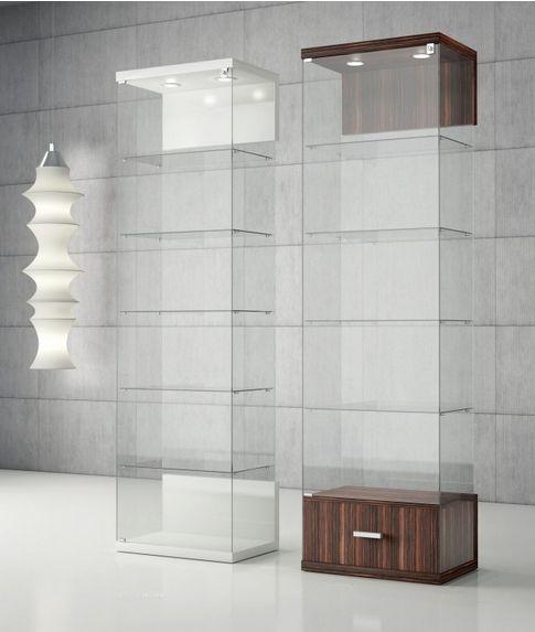 Vetrinette Moderne per soggiorno e a parete modello Smart ...