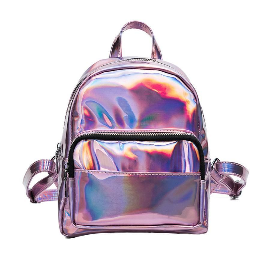 ba584160ee34 Glowing Travel Shoulder Bag Backpack for Women Girls  womensfashion
