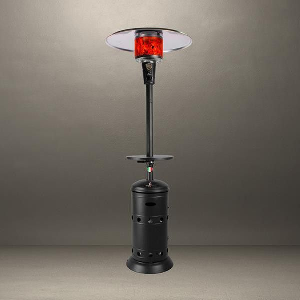 Lava Heat Italia Vittorio Floor Lamp Outdoor Patio Heater   The Lava Heat  Italia Value Line Vittorio Dome Top Outdoor Patio Heater Gives A 20 Foot  Diameter ...