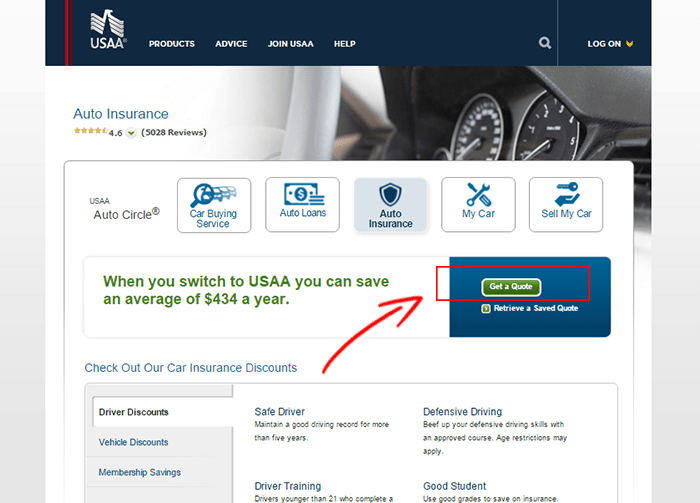 Usaa Auto Quote Collection Usaa Car Insurance Quote Usaa Auto