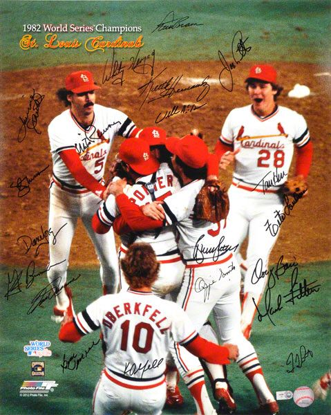 Milwaukee Brewers Bedroom In A Box Major League Baseball: St Louis Cardinals, 1982 World Series Champions