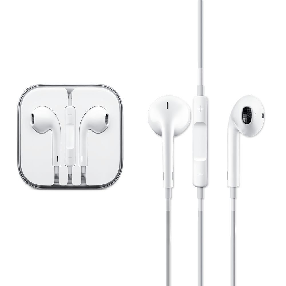 Handsfree Stereo Headset Earphone Earpods With Mic And Volume For Iphone 4 5 6s Apple Earphones Iphone Headphones Apple Headphone