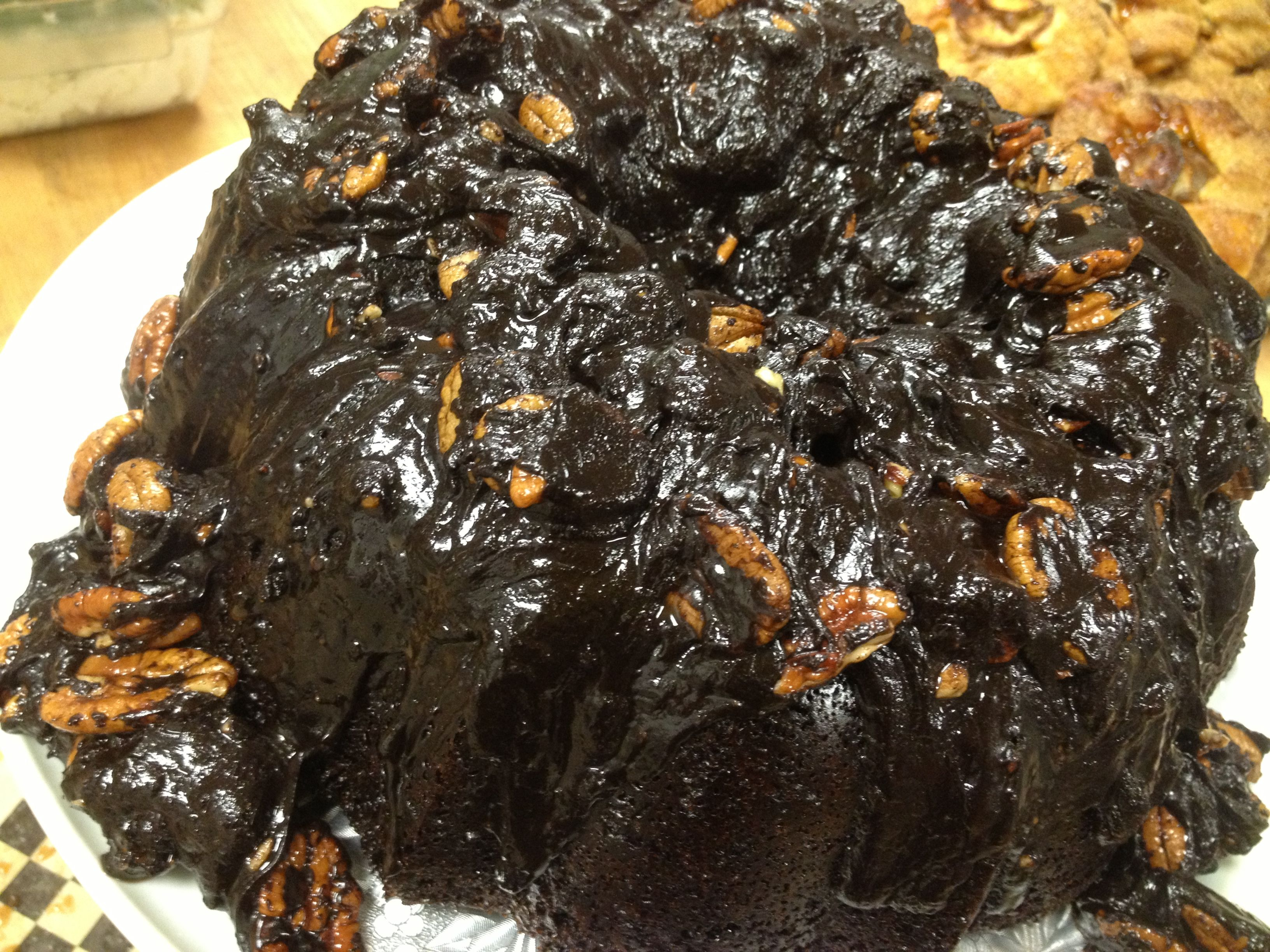 The Black Rooster Bakery Mexican Cake with Pecans
