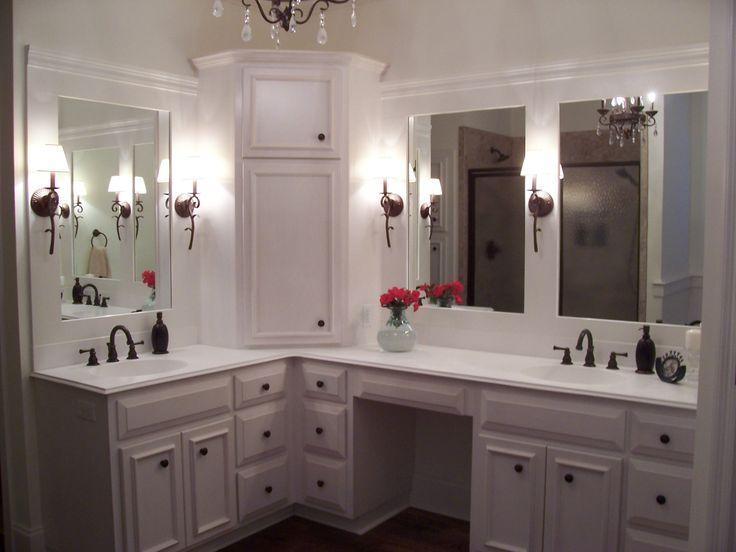 Custom Corner Vanity Google Search Custom Bathroom Vanity