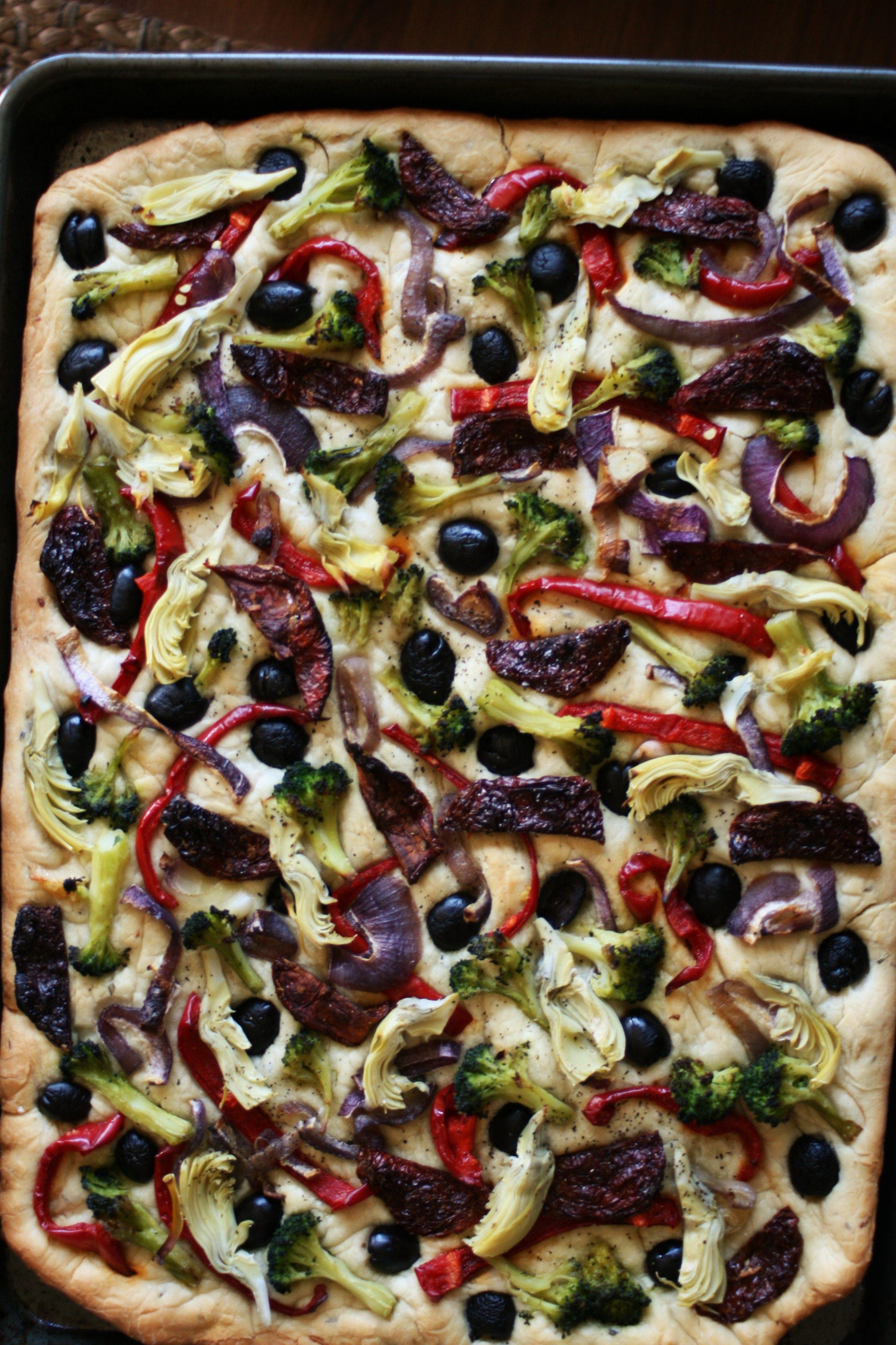 Roasted Vegetable Bread | Recipe | Roasted vegetables ...