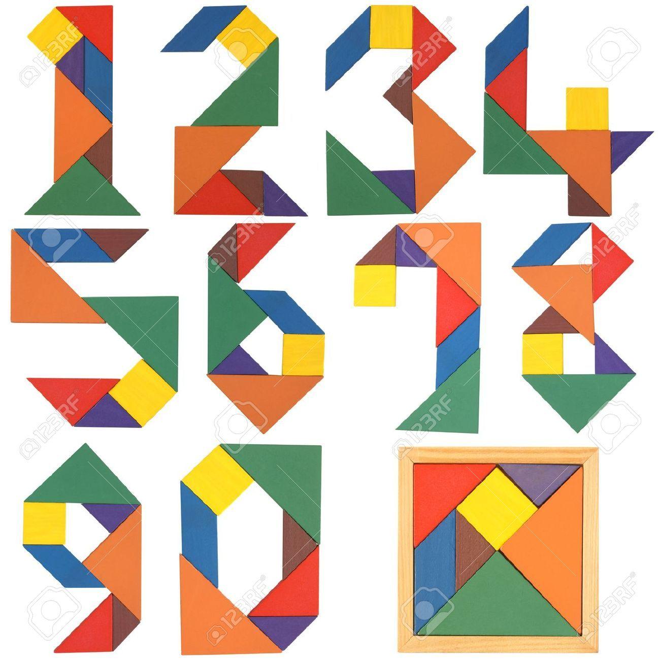 Tangram Cijfers - Google Zoeken