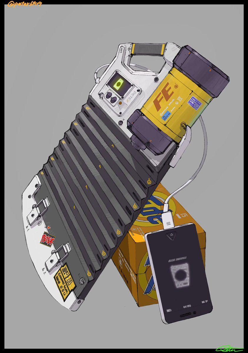 絵を描くpeter on twitter sci fi concept art robot concept art prop design