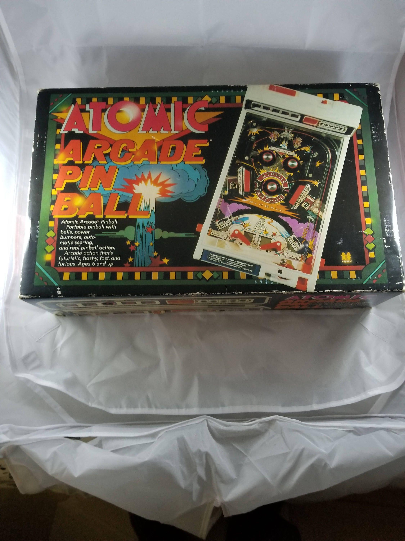Working Tomy 1979 Atomic Arcade Pinball Arcade Game