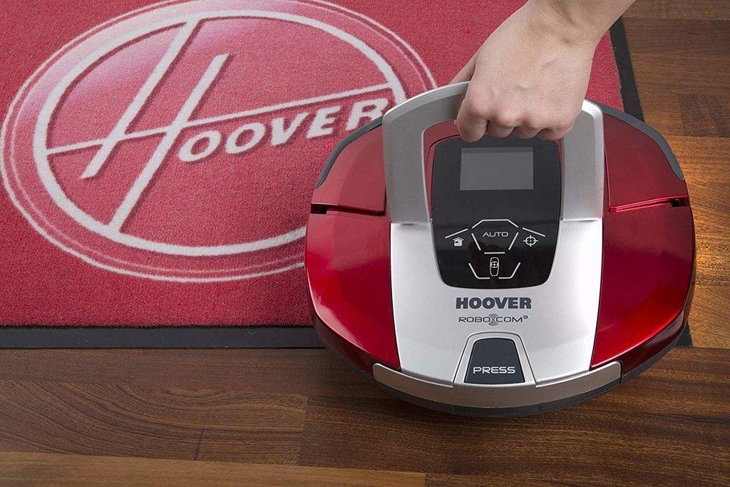 Hoover Rbc040 Robot Aspirador Con Filtro Hepa Hasta 90 Mins De