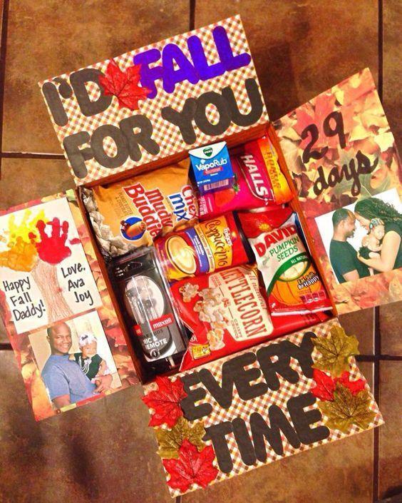 Thanksgiving Care Package Ideas #spookybasketideasforboyfriend