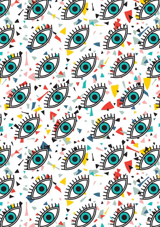 Evil Eyes Art Print By Season Of Victory Society6 Eyes Wallpaper Evil Eye Art Eye Art