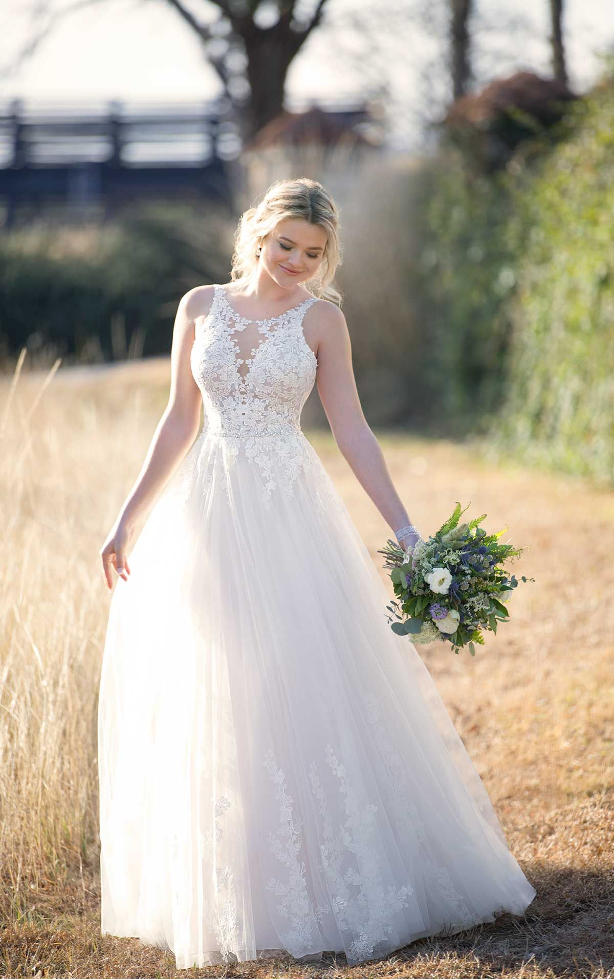 Mermaid Wedding Dress With Rich Beadwork Essense Of Australia Wedding Dresses Ball Gowns Wedding Aline Wedding Dress,Gorgeous Wedding Mermaid Wedding Dresses 2020