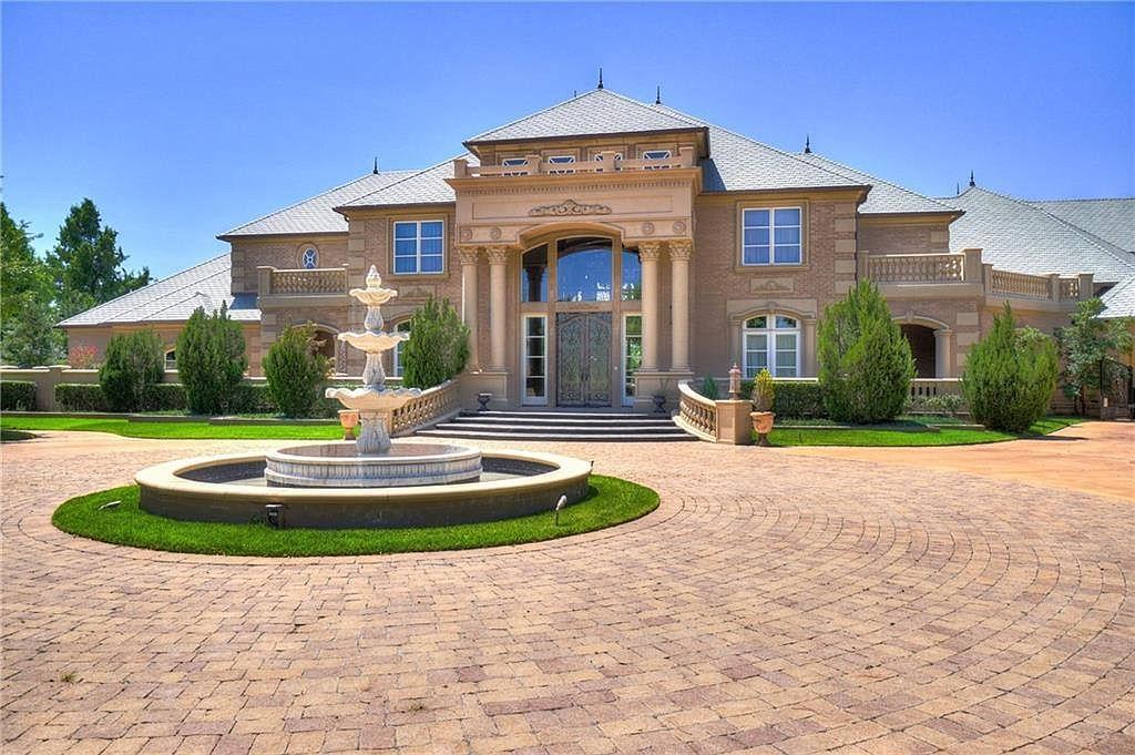 4920 Gaillardia Cir Oklahoma City Ok 73142 Mls 871647 Zillow Covered Outdoor Kitchens Craftsman House Estate Homes