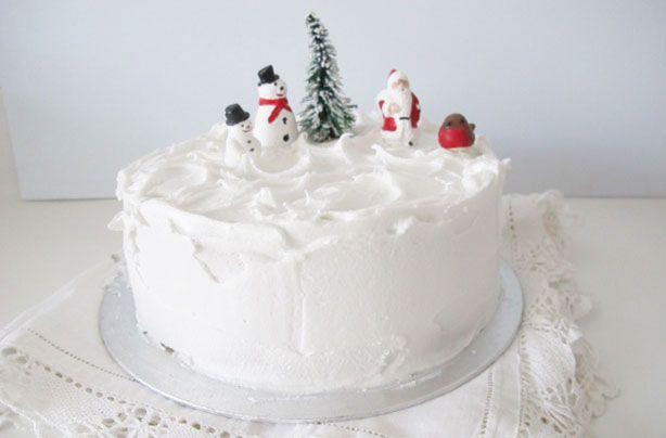 Christmas Cake Decorations How To Make Royal Icing