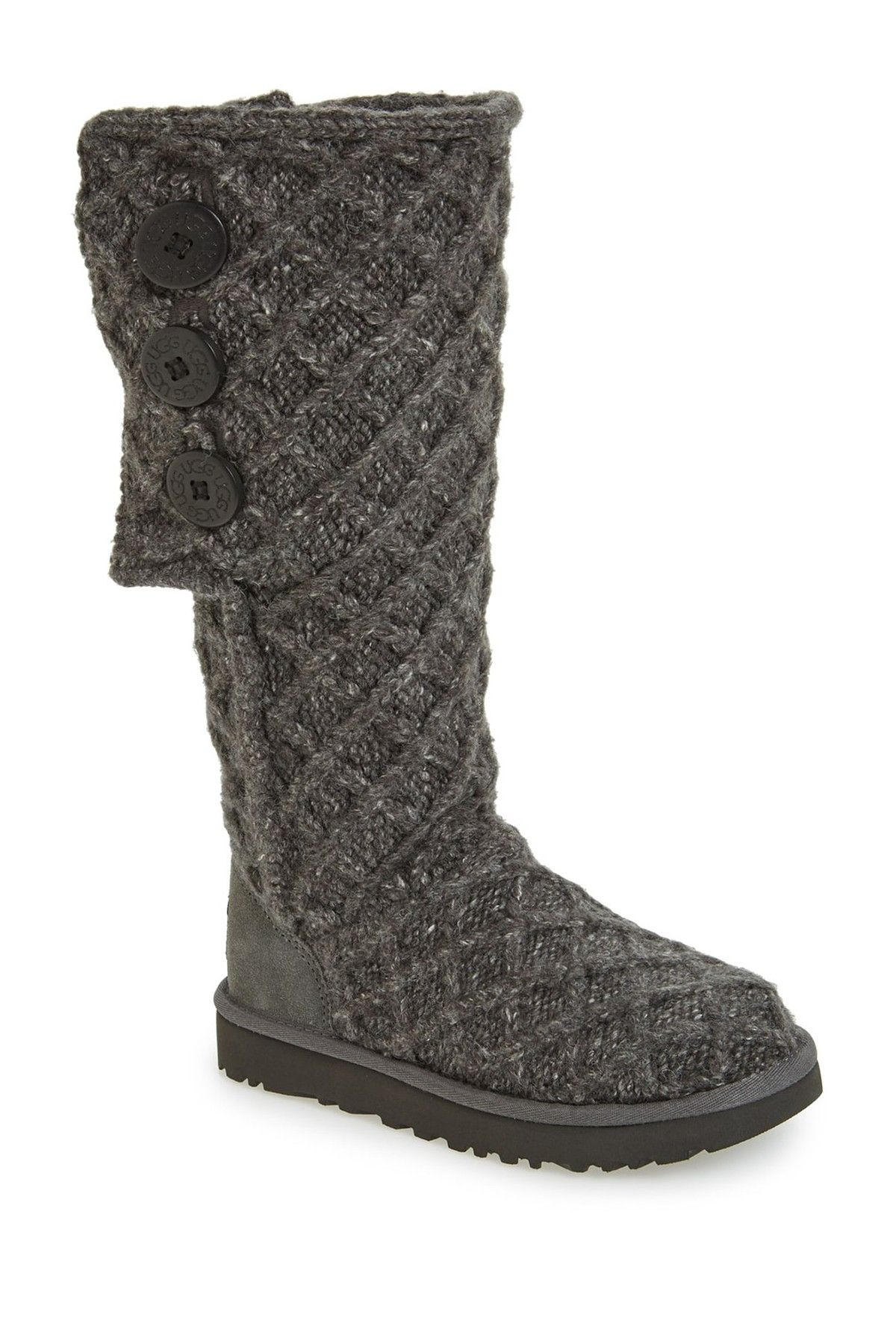6cf12d76e78 Lattice Cardy UGGpure(TM) Knit Boot | Fall Fashion | Uggs, Boots ...