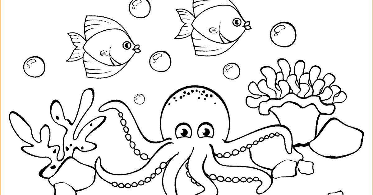 19 Lukisan Pemandangan Bawah Laut Yang Mudah Di 2020