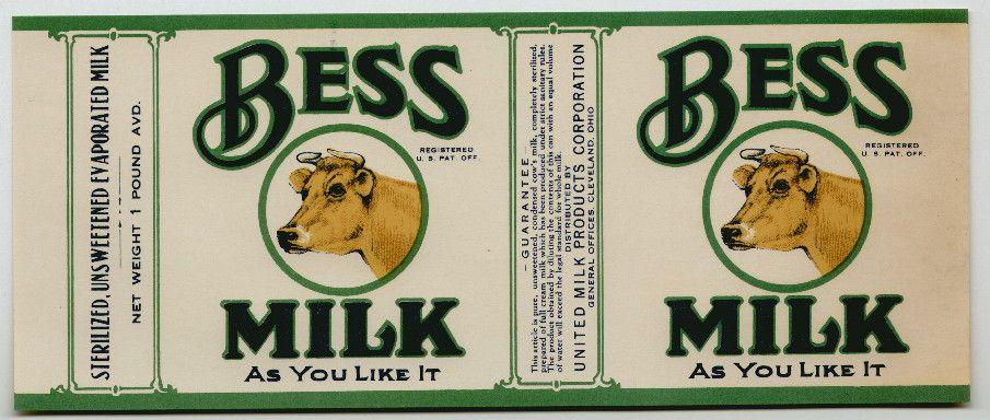 Bess Vintage Milk Can Label Vintage Milk Can Labels Printables Free Vintage Labels