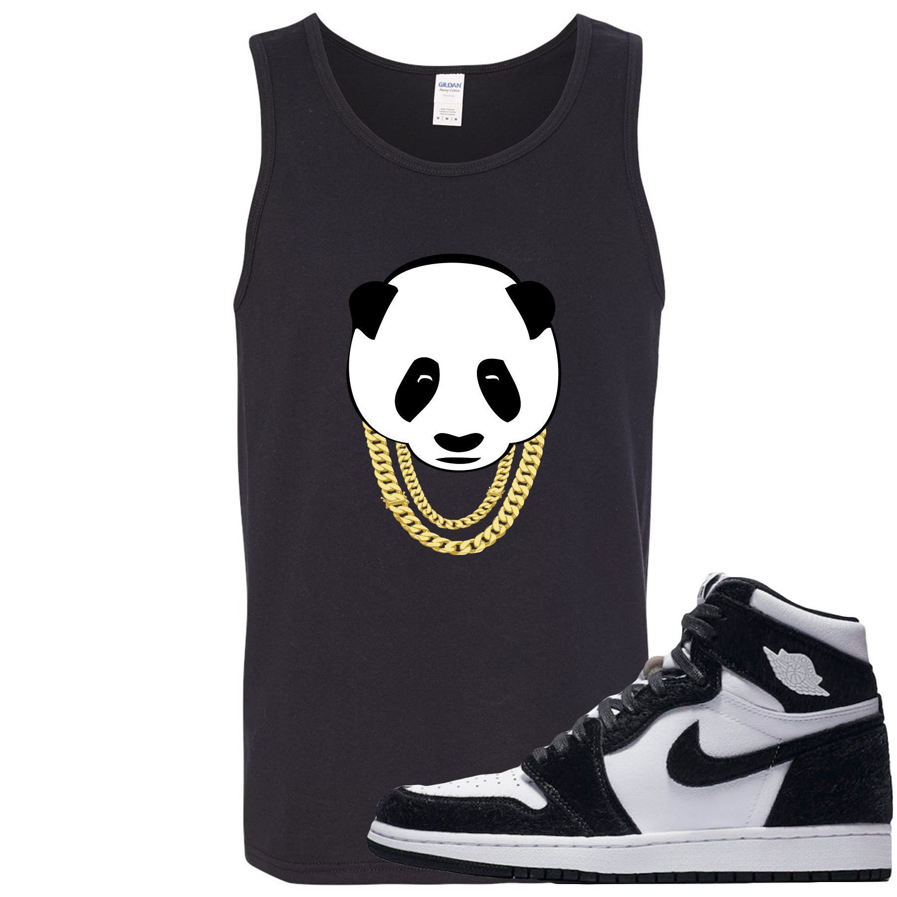 Jordan 1 Retro High OG WMNS Panda Sneaker Hook Up Panda